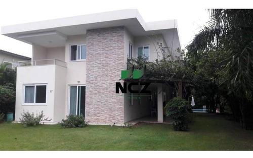 Casa Com 6 Dormitórios À Venda, 436 M² Por R$ 2.100.000,00 - Guarajuba - Camaçari/ba - Ca3370