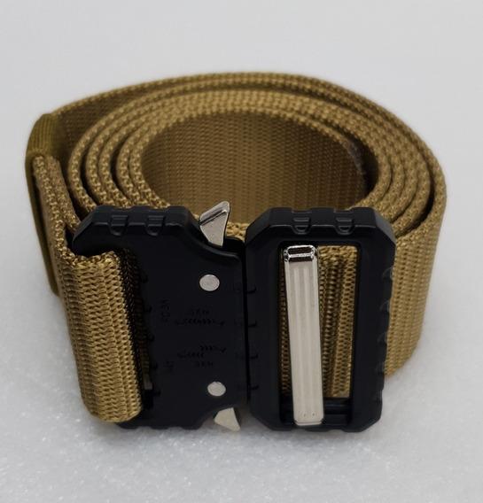Cinturón Kaki Táctico Militar Vestir