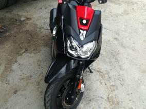 Yamaha 125 Bws Fi Negra Con Rojo