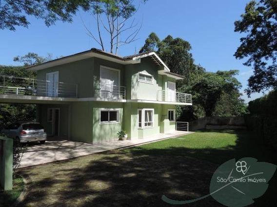 Casa Residencial Para Venda E Locação, Vila Moura, Granja Viana, Carapicuíba - Ca0457. - Ca0457