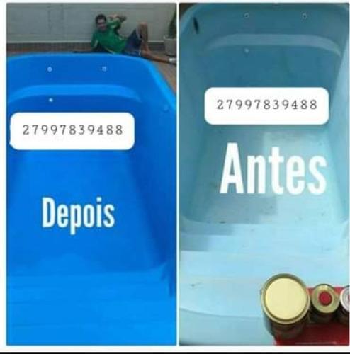 Imagem 1 de 5 de Reforma De Piscinas De Fibra E Azulejo 27997839488