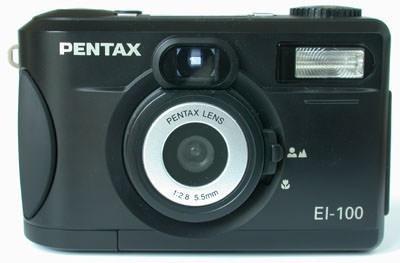 Camera Digital Pentax El-100 Com Defeito (leia Descrição)