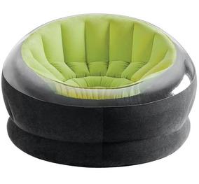 Poltrona 112x109x69cm Verde Intex