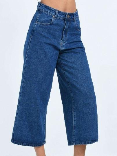 Jean Culotte Azul Mujer Del 36 Al 44