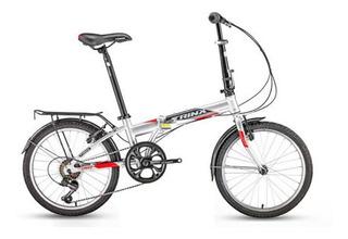 Bicicleta Plegable Rod 20 Trinx Life 2.0 7v V-brake Urbana