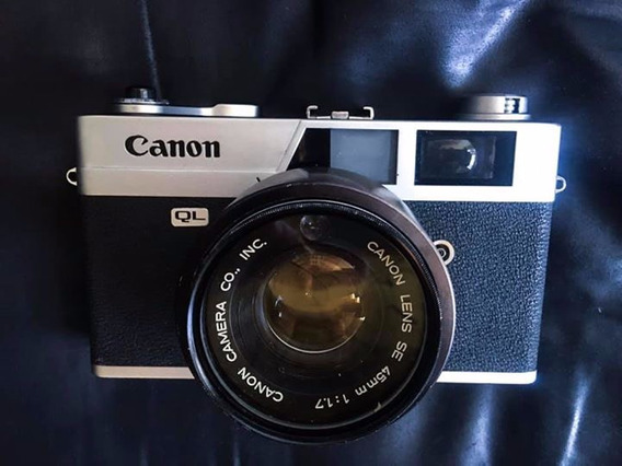 Camera Fotografica Analógica Canon Ql17