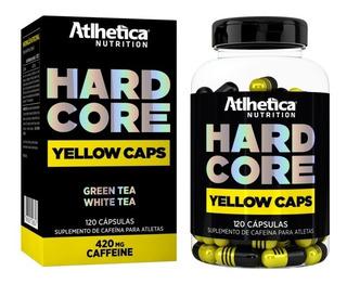 Hardcore Yellow Caps (120 Caps) Termogênico - Atlhetica