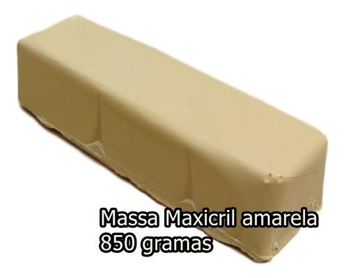 Massa Polimento Acrilico Dvd Viseira Plastico Amarela Grande