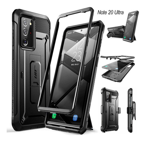 Case 360° Galaxy S20 Ultra Note 10 Plus S10 S9 S8 Note 9 8