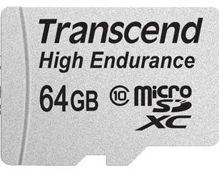 Cartão De Memória Transcend Microsdhc 64gb High Endurance