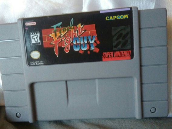 Final Fight Guy Snes Cartucho Super Nintendo