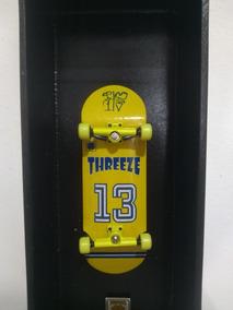 Fingerboard Importado Threeze 32mm + Obstaculo Gratis
