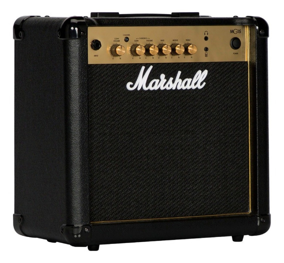 Amplificador Para Guitarra Marshall Mg 15 Cf Gold