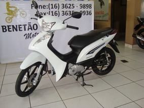 Honda Biz 125 Ex Branco 2014