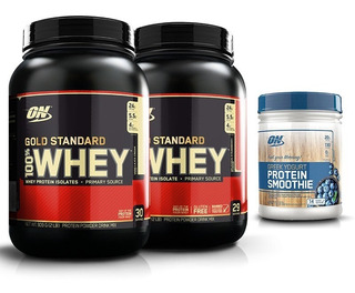 100% Whey Protein (2x1.9lb/900g) Optimum Nutrition