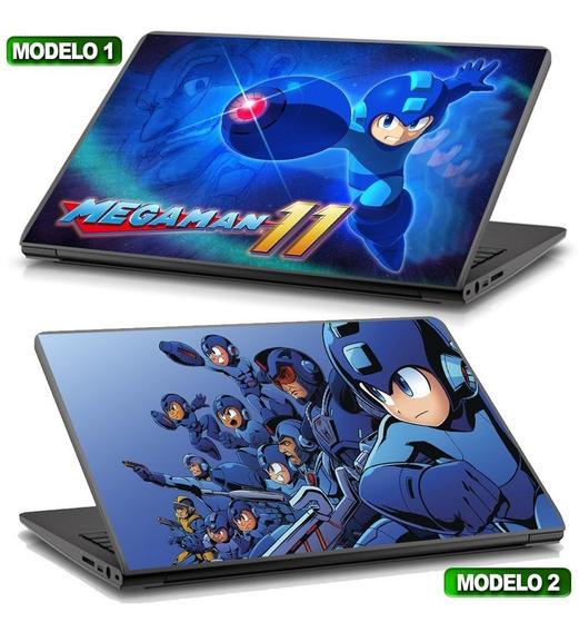 Adesivo Notebook Megaman 11 Gamer Modifique Seu Notebook