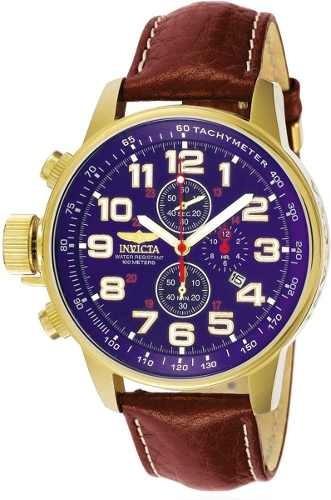Relógio Invicta 3329 Force Collection Banhado A Ouro 18k