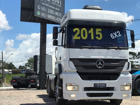 Mercedes Axor 2544 6x2 Ano 2015 Canelinha