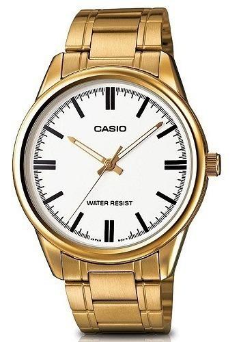 Relógio Casio Masculino Analógico Mtp-v005g-7audf