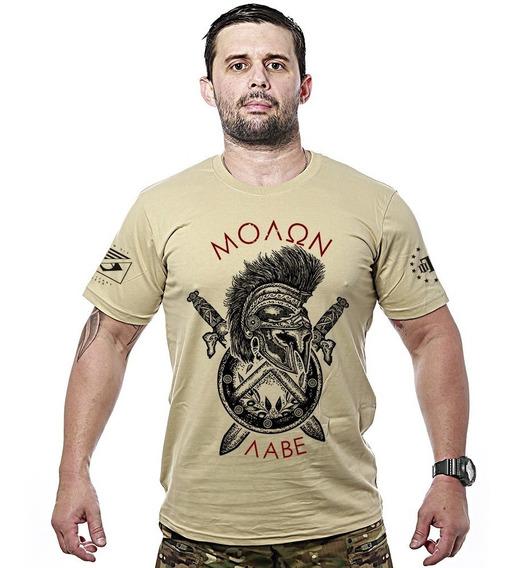 Camisa Militar Molon Labe Spartan Team Six