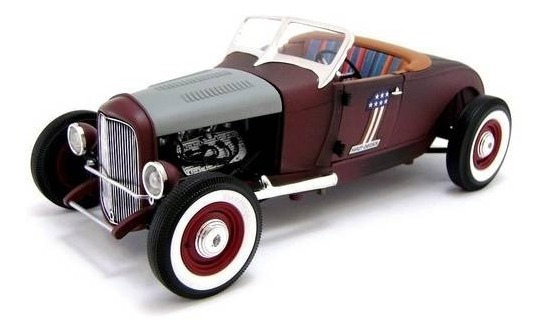 1929 Ford Harley Davidson Hot Rod - Escala 1:18 - Highway 61