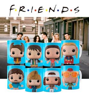 Caneca Friends Funko + Caixinha
