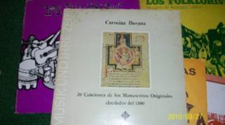 Carmina Burana 20 Canciones De Los Manuscritos Originales