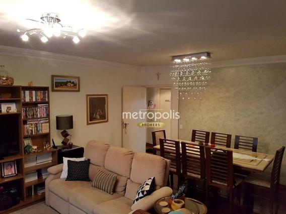Apartamento Com 3 Dormitórios À Venda, 106 M² Por R$ 500.000,00 - Cerâmica - São Caetano Do Sul/sp - Ap2598
