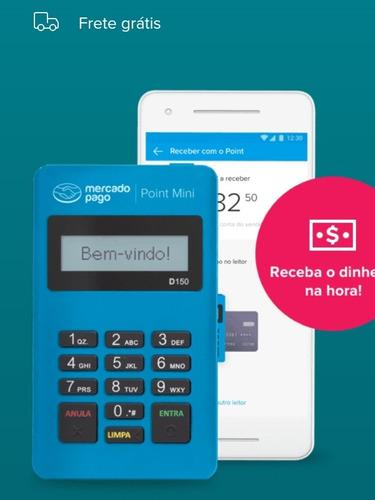 Maquininha De Cartão De Crédito E Débito Point Mini