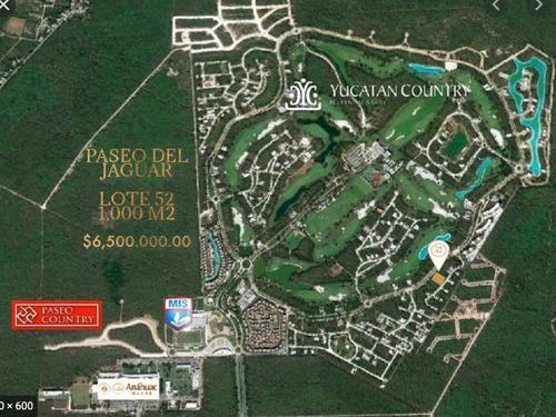 Imagen 1 de 4 de Excelente Terreno En Venta En Yucatan Contry Club