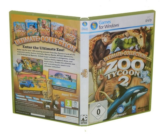 Cd Zoo Tycoon 2 Ultimate Collection - Pc Computador