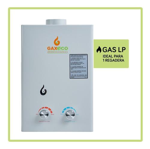 Calentador De Agua Gaxeco 6000hv + Kit Instalación Gas Lp