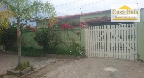 Casa À Venda, 143 M² Por R$ 370.000,00 - Jardim Belas Artes - Itanhaém/sp - Ca2949
