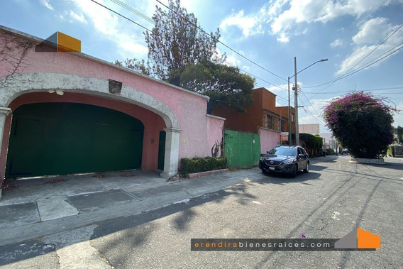Terreno En Venta, Calle Cerrada, Jardines Del Pedregal, Álva