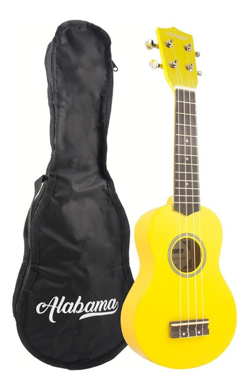 Ukelele Soprano Alabama Uks-10 Colores Con Funda - Oddity
