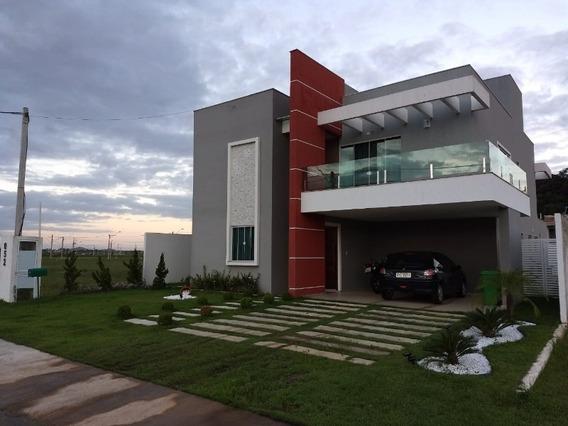 Belíssima Casa De Alto Padrão No Condomínio Viverde Ii - 434 - 32855912