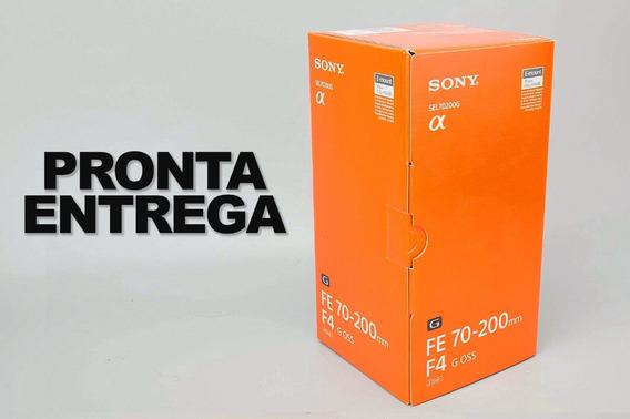 Lente Sony Fe 70-200mm F/4 Sel70200g / Pronta Entrega