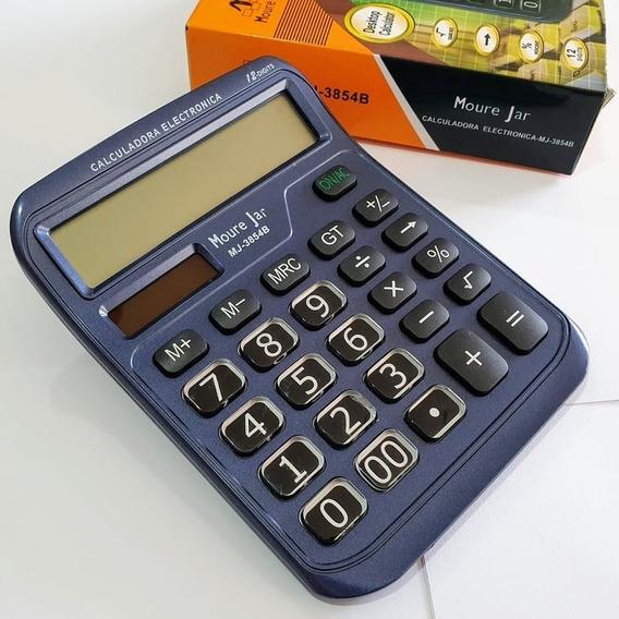 Calculadora De Mesa 15x12 C Teclas E Visor Grandes 12digitos