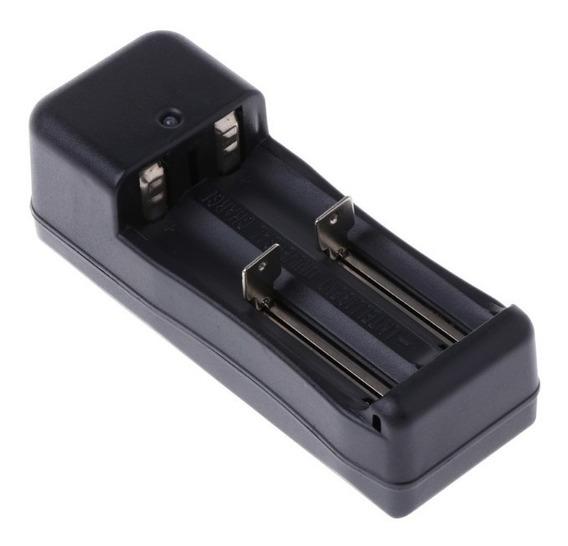 Carregador Bateria Li-ion Lanterna Tática Bivolt Cr123 18650