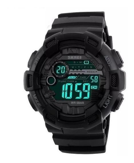 Relógio Masculino Shock Militar Skmei 1243