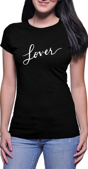 Baby Look Taylor Swift Lover Tour Camiseta Feminina