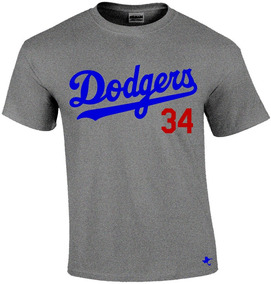 Playera Mlb Dodgers De Los Angeles 1 By Tigre Texano Designs