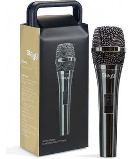 Micrófono Condenser Con Estuche Stagg Scm200 Envio