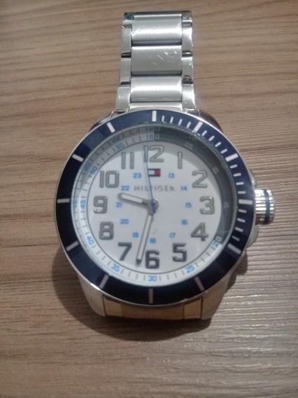 Relógio Tommy Hilfinger -aço Escovado - Produto Seminovo!