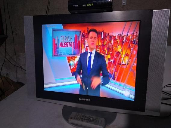 Tv/monitor Lcd Samsung Ln20s51bp Com Controle Remoto