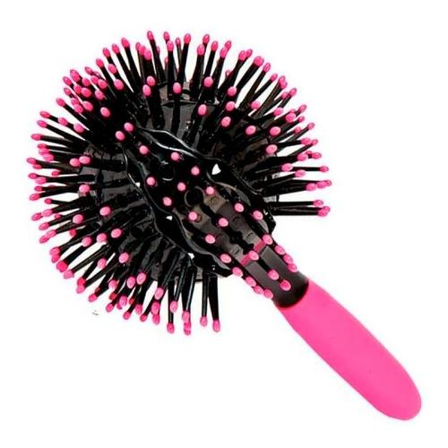 Cepillo Para Rulos 360 3d Bomba Plastico Alta Calidad Curl