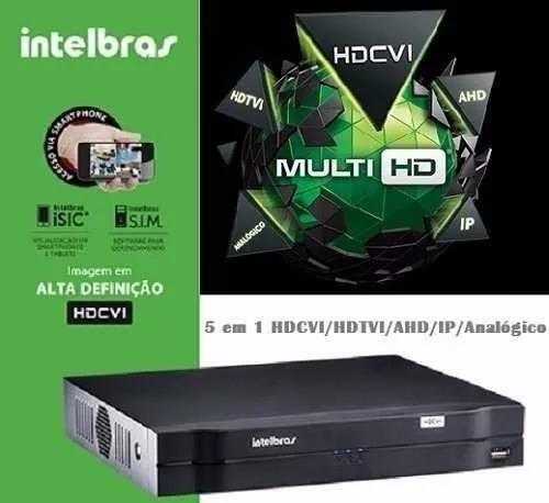 Dvr Stand Alone 8ch Intelbras Mhdx 1008 Multi-hd