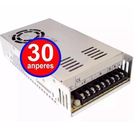 Fonte Transformador 110v 127v 220v Para 12v 30a Amperes 240w