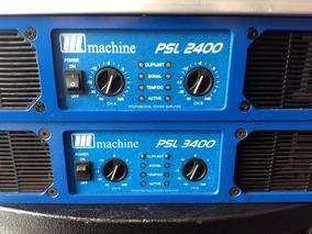 Amplificador Potencia Machine Psl 3400