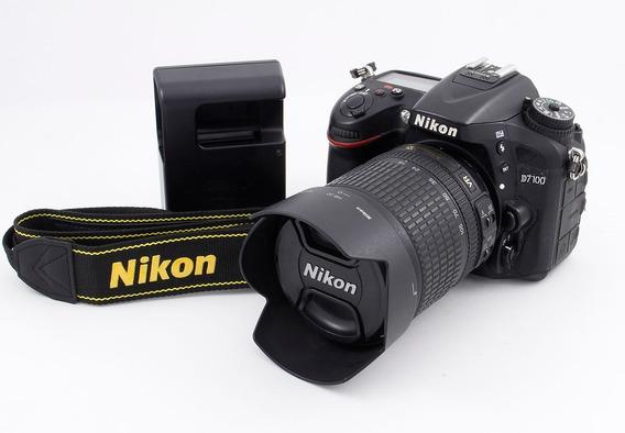 Nikon D7100 Con Con 18-105 Vr
